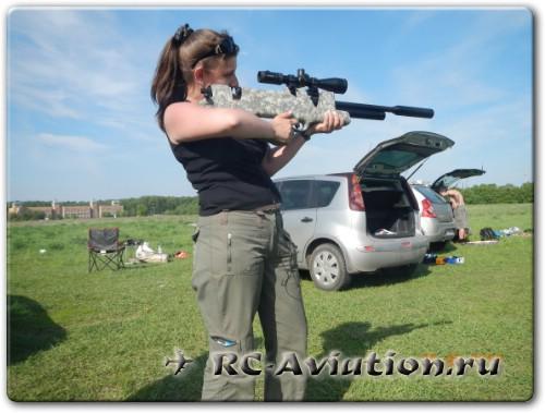 крашфест - стрельба по авиамодели